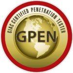 GPEN Certified Penetration Tester Logo